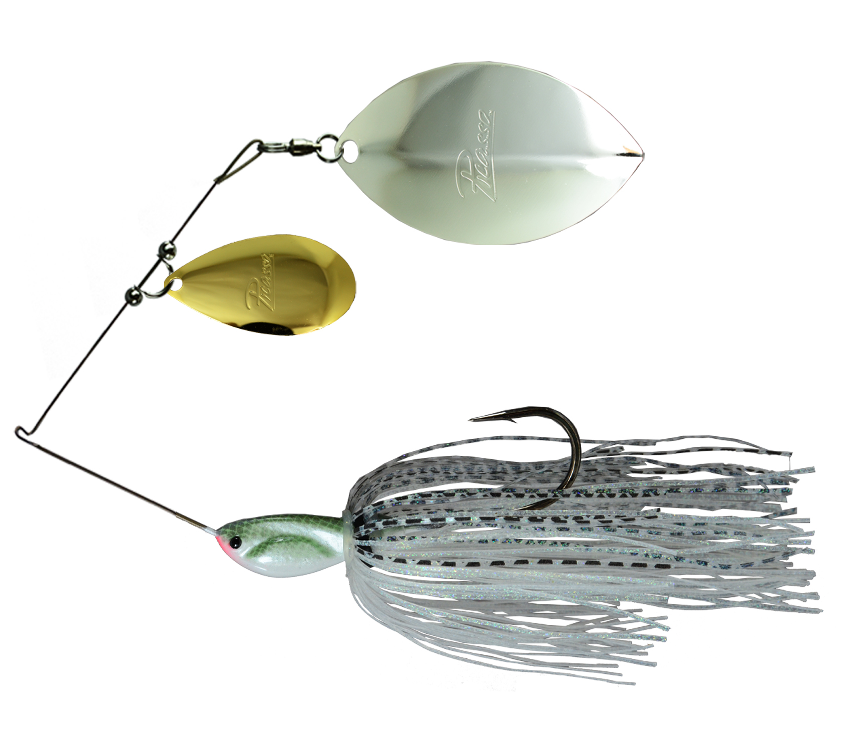 Picasso Lures Tandem Thunder Willow Spinner Bait
