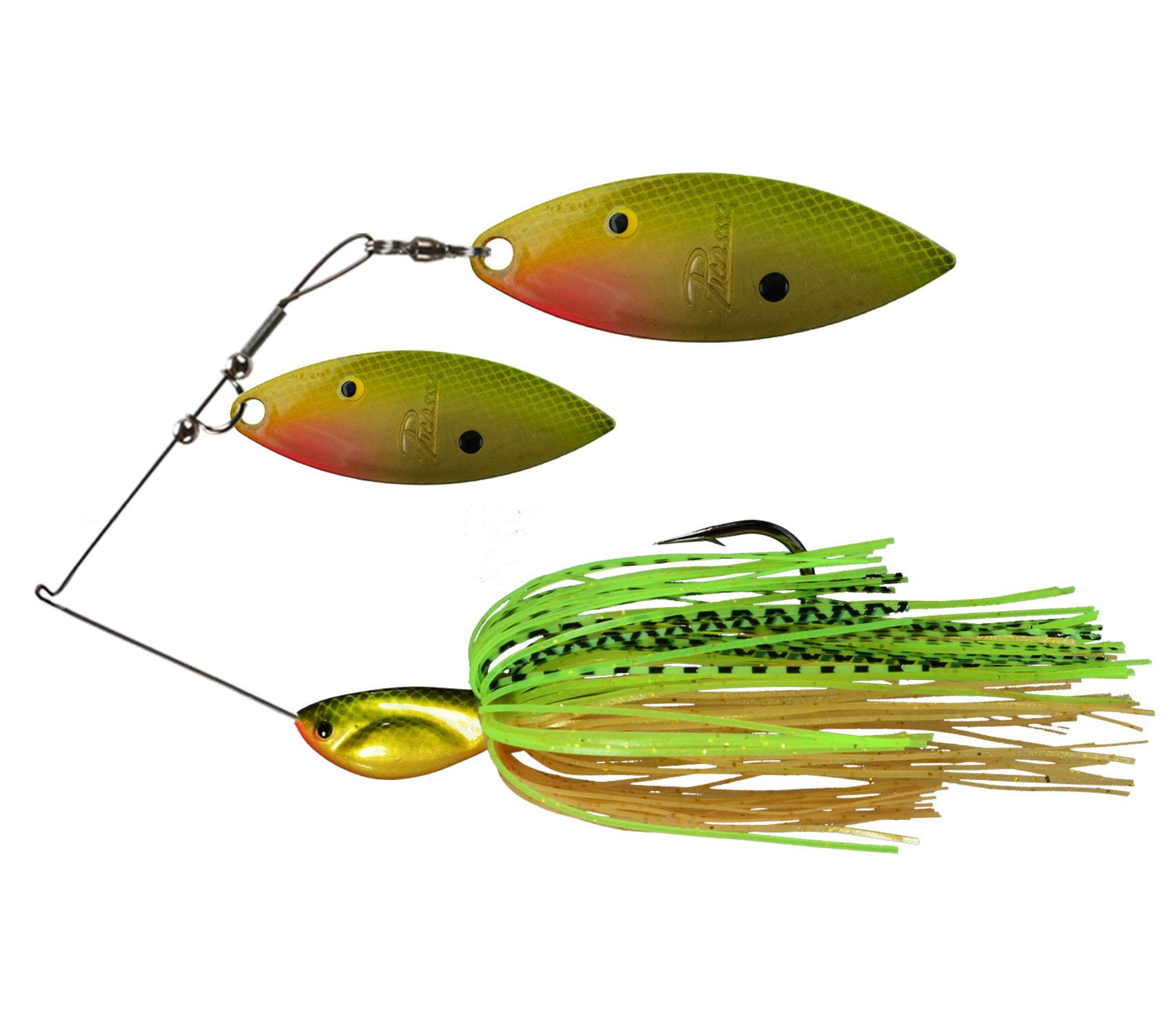 Picasso Lures Double Willow Painted Blade Spinner Bait